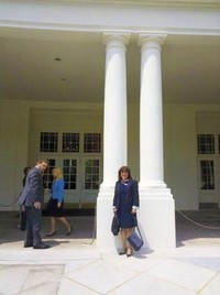 Megan Cullen Southern California District Export Council goes to the White House