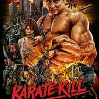Exclusive: Poster Debut For Kurando Mitsutake's KARATE KILL From The Dude Designs