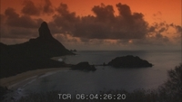 Scenery and Sunsets of Fernando de Noronha, Brazil