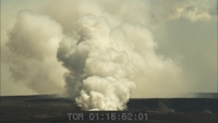 Halemaumau Vent on Kilauea