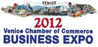 Writing Goddess at Venice Chamber Business Expo May 23