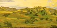 """Lisque Creek View"", 18"" X 36"", oil, $1,000.00"
