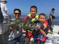 Coral Sea 8.5.16 1/2 day fishing-5