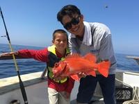Coral Sea 8.5.16 1/2 day fishing-6