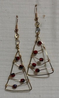 Holiday Earrings and Ornaments: Jewelry Making Workshop Ages 12 and Up