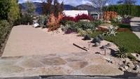 "permeable ""cobble stone"" paver driveway, mandala, flagstone"
