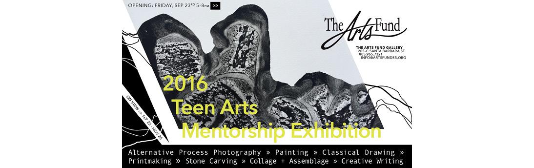 2016 Teen Arts Mentorship Exhibition