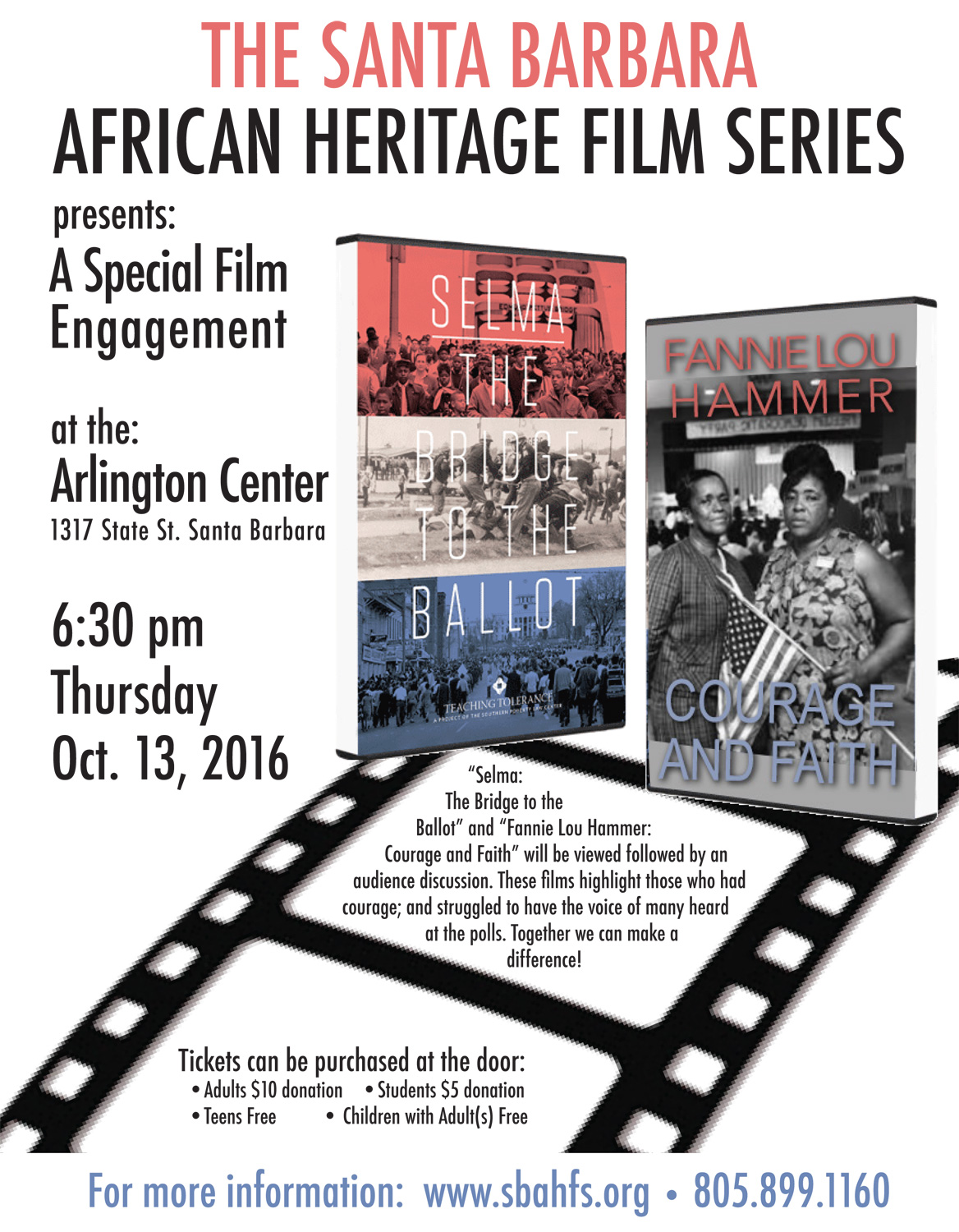 The Santa Barbara African Heritage Film Series