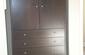 Custom Walnut Cabinet Closed