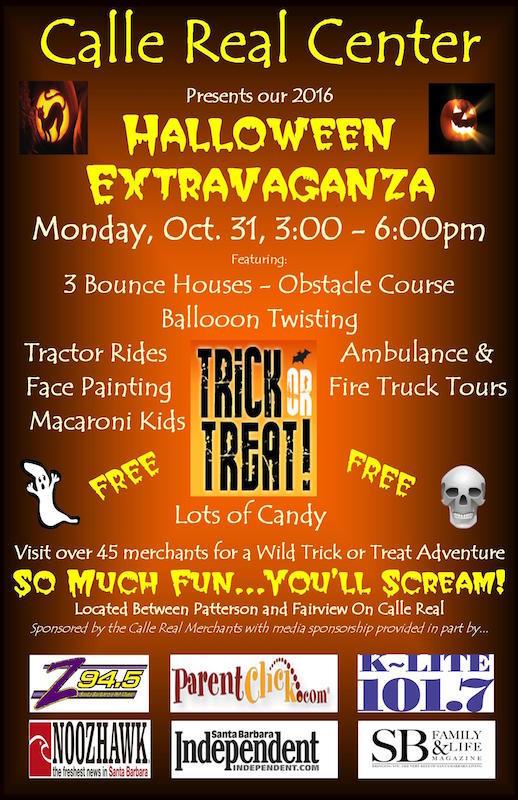 Halloween Extravaganza 2016, Monday, October 31