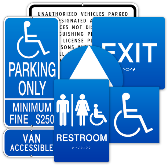 Compliant Facility Signage Still a Major Lawsuit Trigger