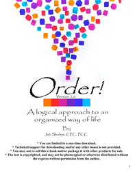 Order - A logical approach to an organized way of life
