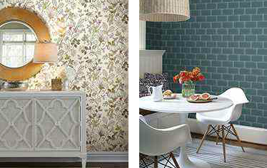 Mahone's Wallpaper Shop Santa Barbara Interior Design
