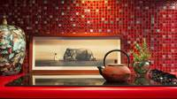 Red Kitchen Linda Adams Santa Barbara Interior Designer