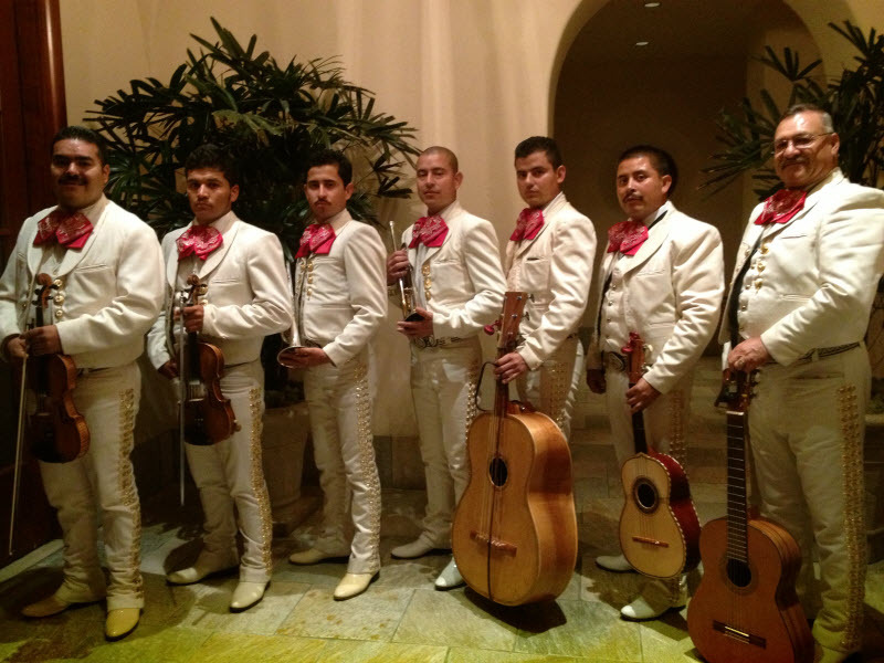 Mariachi white suits
