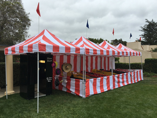 Santa Barbara carnival tents games