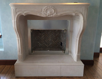 Stonecraft Surfaces Natural Stone Fireplace