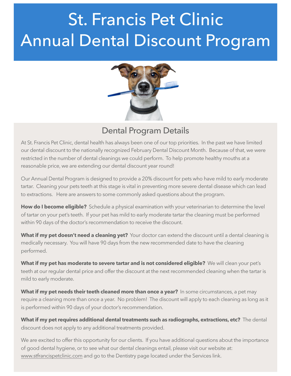 Dental Discount Program