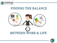 Finding the Balance between Work and Life