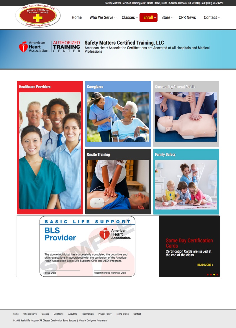 Safety Matters Santa Barbara CPR AED Classes1