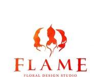Flame Floral Design Studio Logo