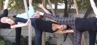 Rope Yoga: Balancing Wheel