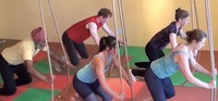 Rope Yoga: Rider Pose