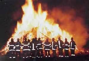 solvang annual christmas tree burning