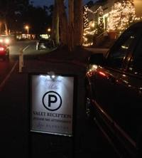 Montecito Valet Parking at Trattoria Mollie Restaurant 3