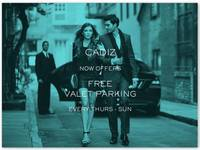 BlueStar Parking begins exclusive complimentary valet service at Cadiz in the heart of Downtown Santa Barbara!