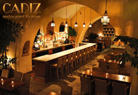 Valet service at Cadiz in the heart of Downtown Santa Barbara