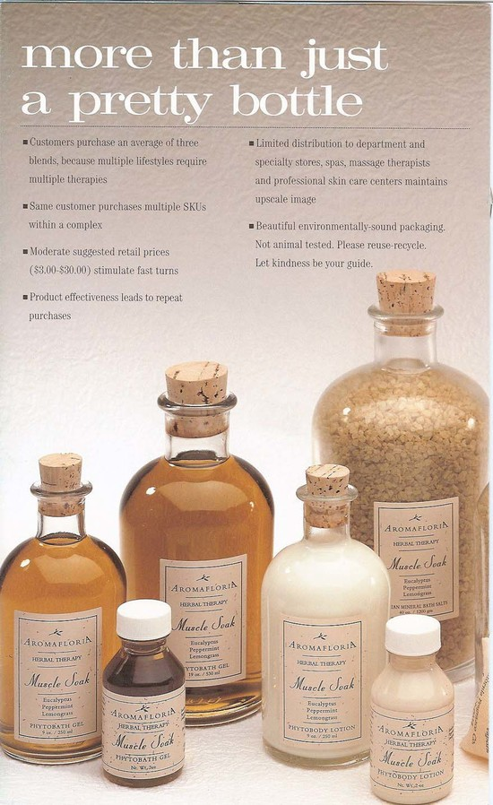 Aromafloria Corporate Brochure -  page 3