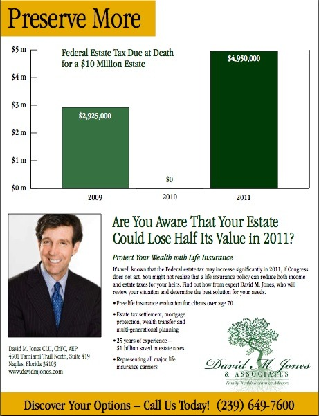David M. Jones Insurance Services Ad Campaign1