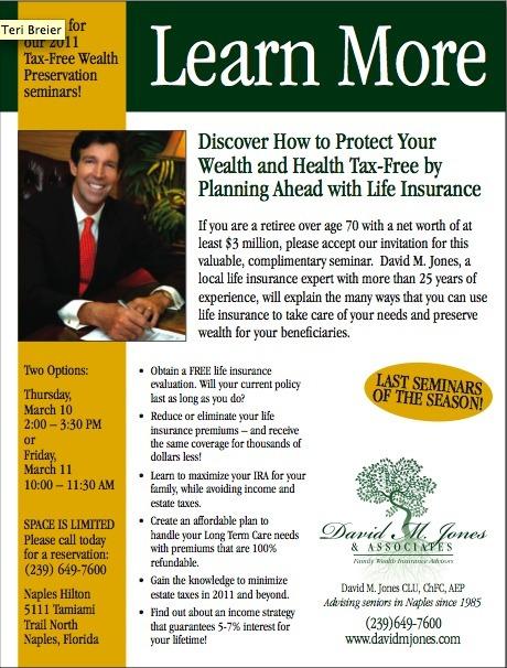 David M. Jones Insurance Services Ad Campaign3