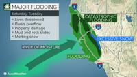 Powerhouse storm to blast California, catastrophic floods possible