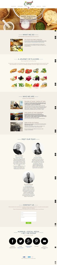 Mediterranean Chef Website
