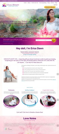 Erica Antonetti Medium Website Home Page