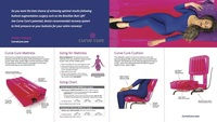 Curve Cure Gatefold Brochure Inside
