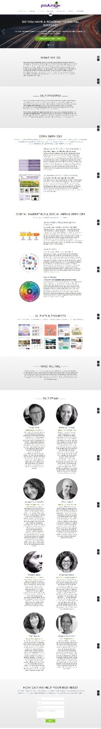 Paulinox Online Marketing Website