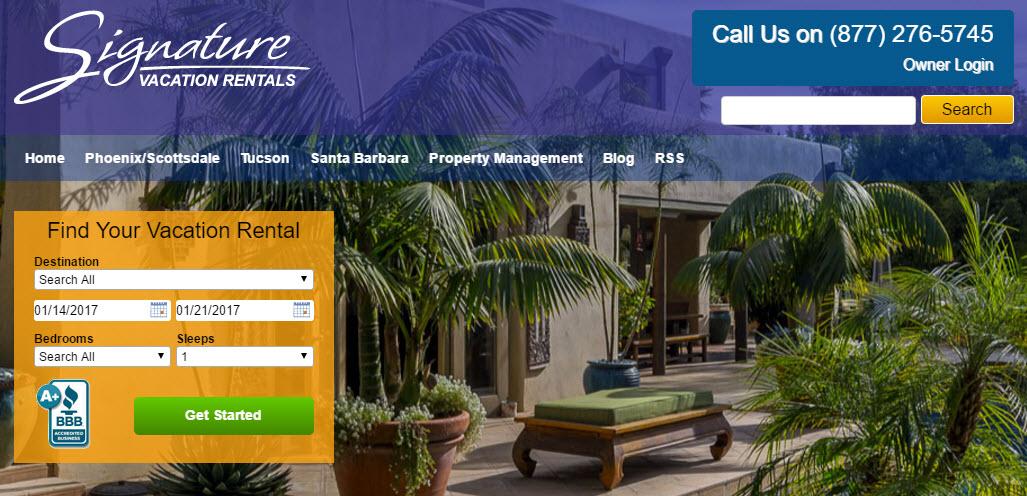 Signature Vacation Rentals - Santa Barbara