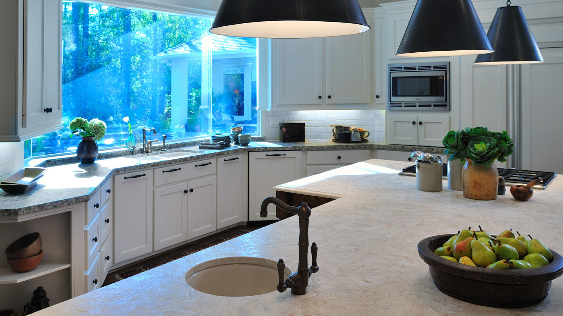 Kitchen Island Countertop Santa Barbara Ventura1