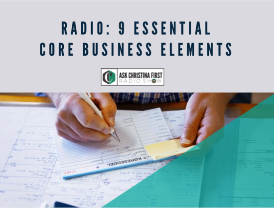 Radio: 9 Core Business Elements