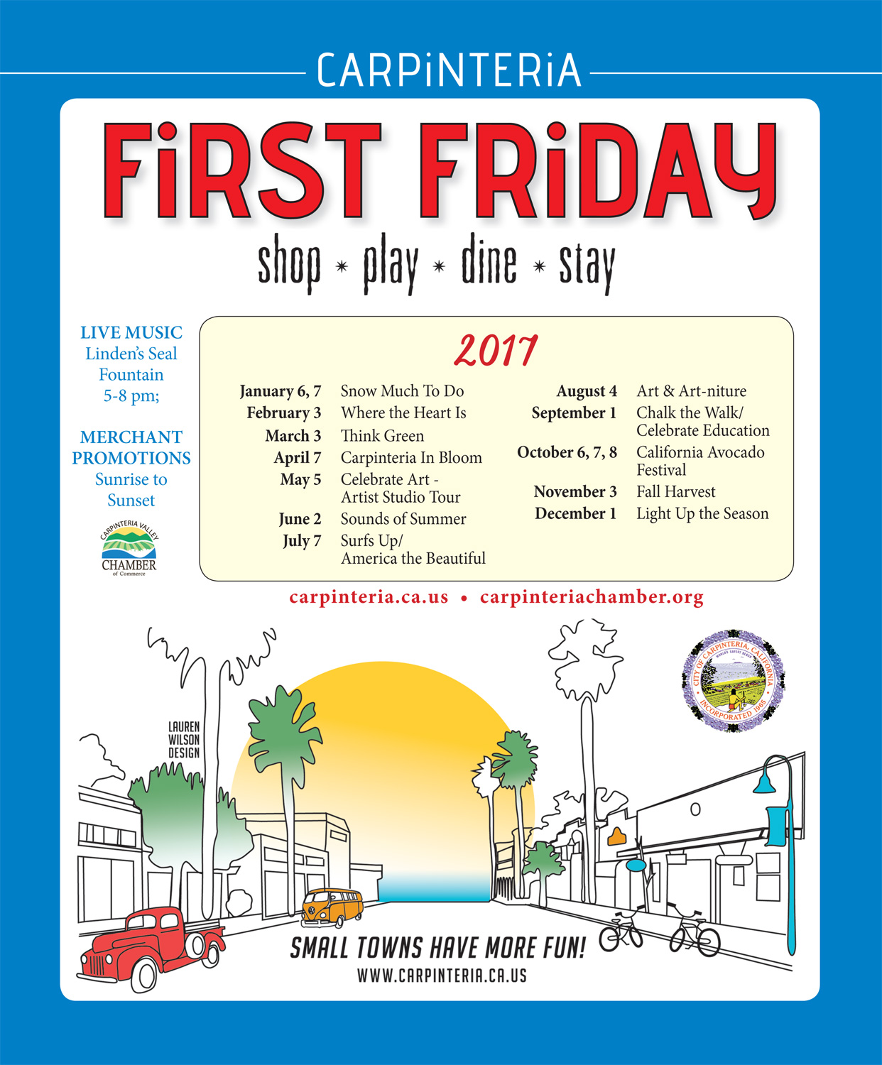 First Friday - Surfs Up/  America the Beautiful