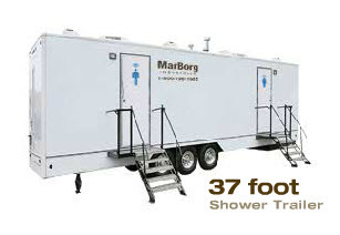 37' Shower Trailer
