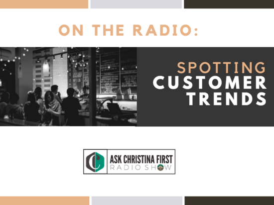 Spotting Customer Trends