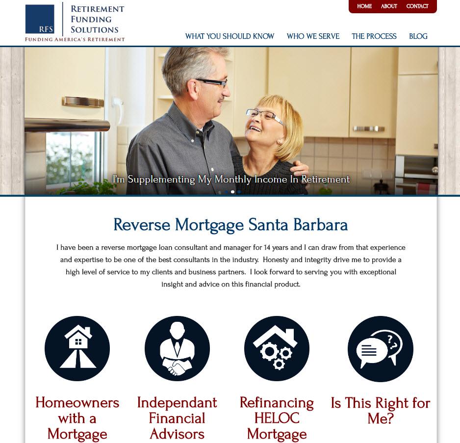 Reverse Mortgage Santa Barbara - Tom Kronen Loan Advisor