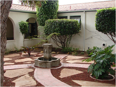 Randy Rosness Courtyard
