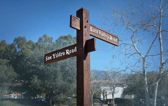 Rural Road Signs Montecito Foundation Community Project