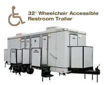 32' Wheelchair Accessible Restroom Trailer