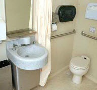 32' Wheelchair Accessible Restroom Trailer-2